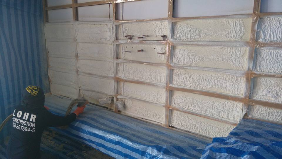 Recent insulation projects